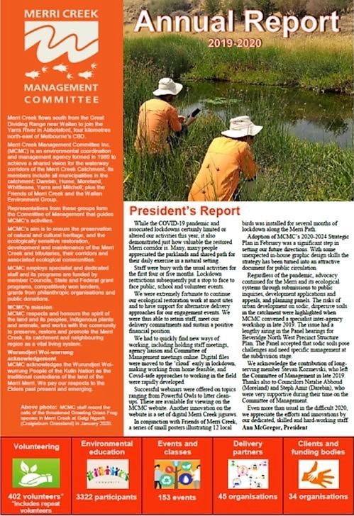 Annual Report 2019 20 cover
