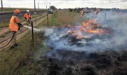 Diggers Rest Burn1 April 2020
