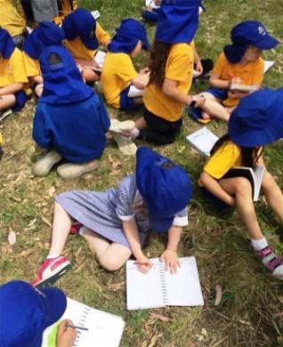 Creekulum School kids