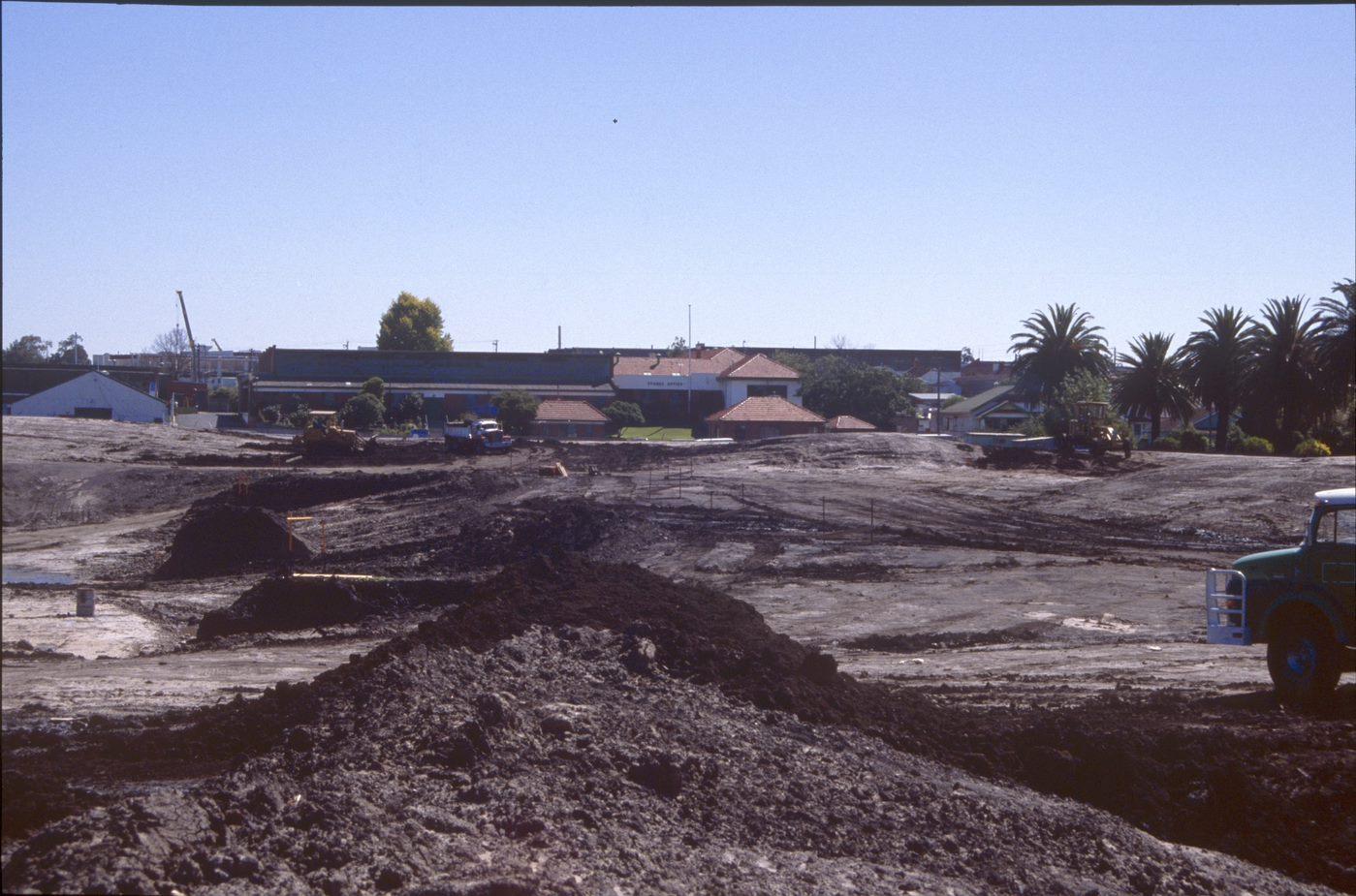 Merri Park being created 1997