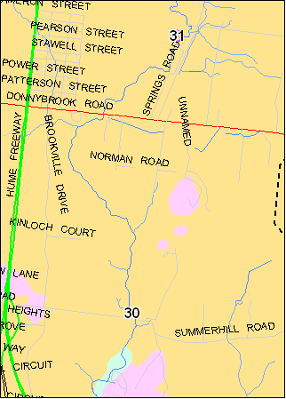 Site location map